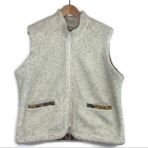 Orvis Women's Sherpa Fleece Vest Sz XL